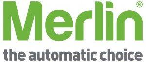 Merlin the automatic choice logo